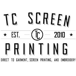 TC Screen Printing Logo 300x300