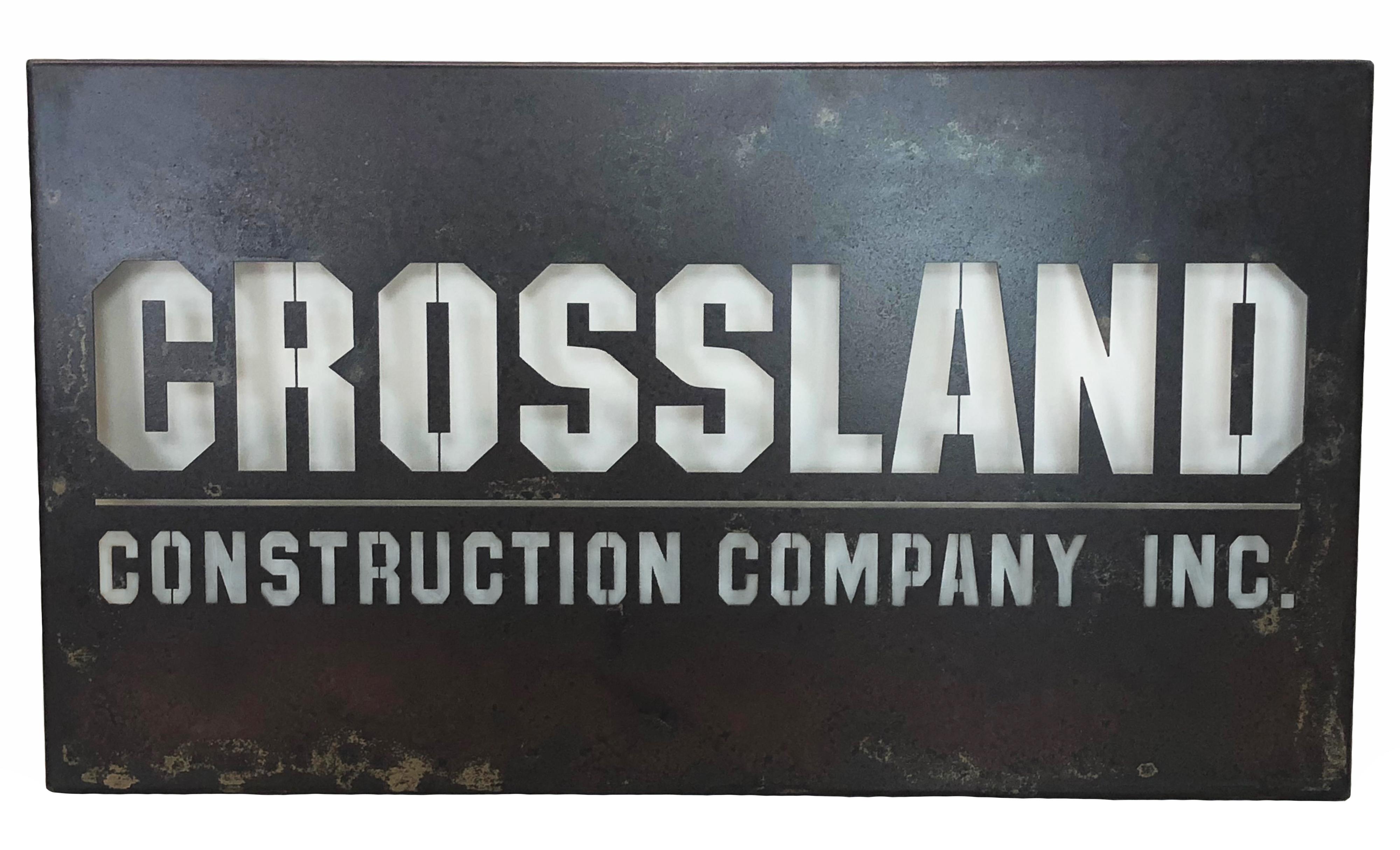 Crossland sign